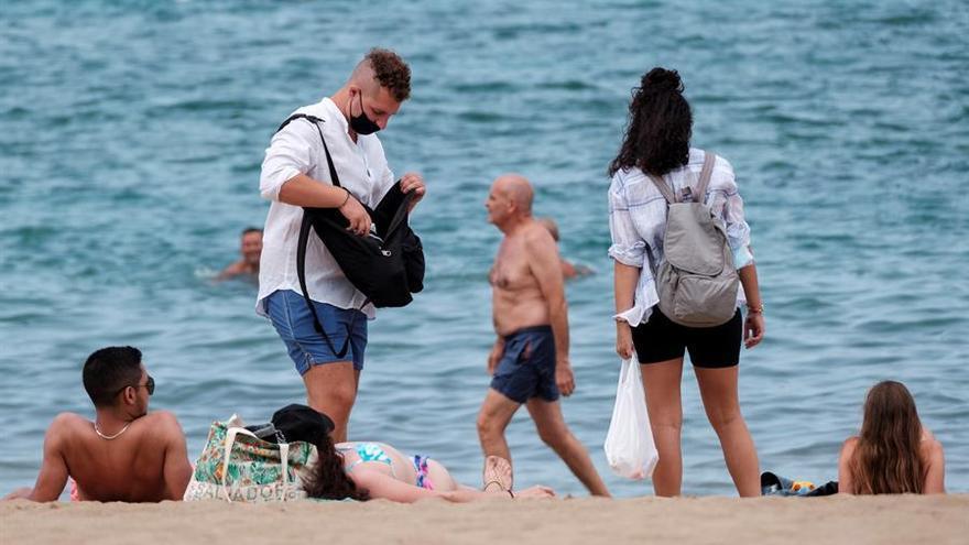 Temperaturas sin cambios este sábado en Canarias