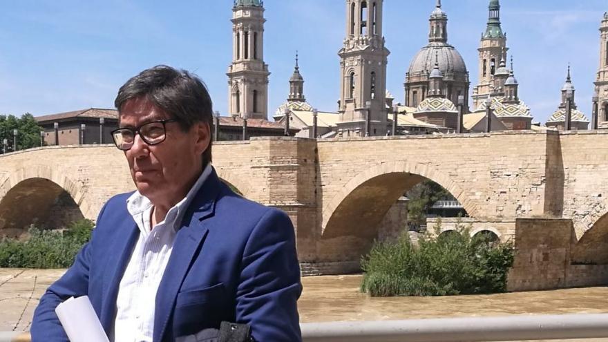 Arturo Aliaga rechazó con rotunidad el trasvase del Ebro