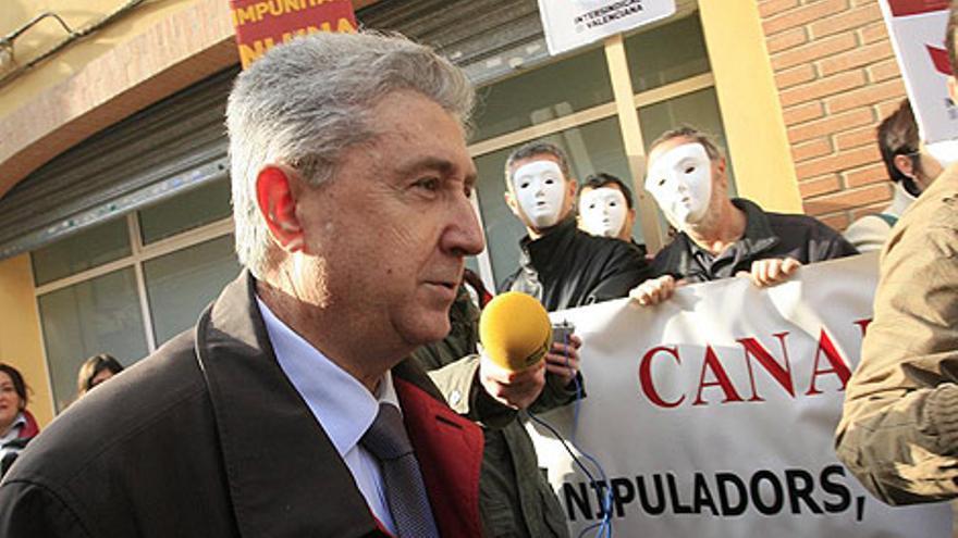 El exsecretario general de RTVV Vicente Sanz, acusado de presuntos abusos sexuales a tres periodistas