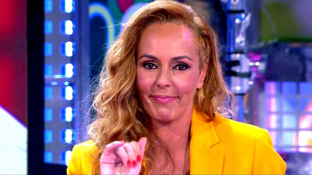 Rocío Carrasco en una partipación en 'Sálvame'