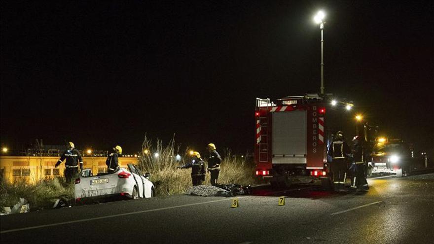 Cuatro fallecidos en tres accidentes de tráfico desde el viernes