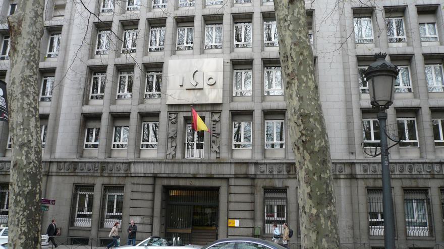 Sede del ICO en el Paseo del Prado de Madrid.