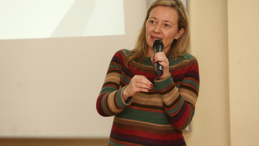 La diputada de Podemos por la provincia de Las Palmas, Victoria Rosell