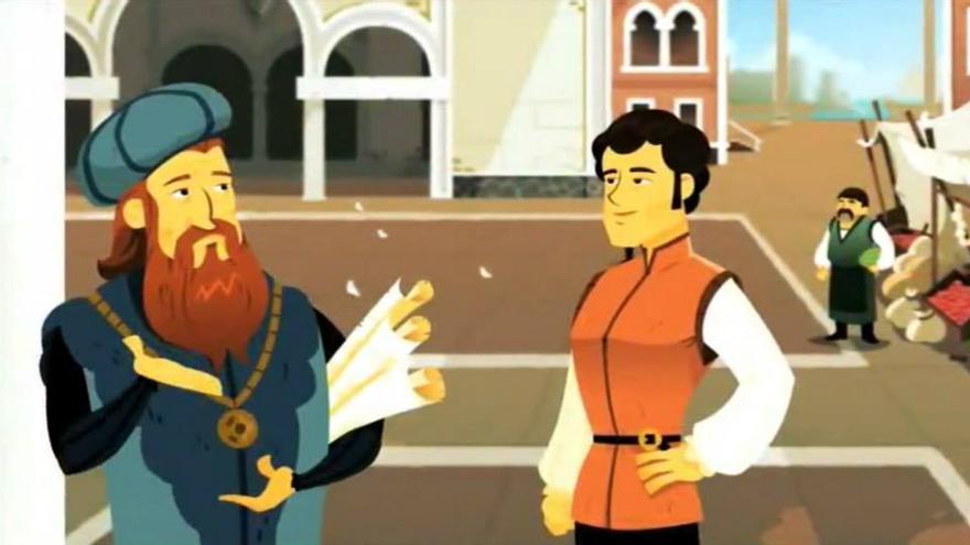 Imagen de 'Navieros' el primer juego de Gamelearn (Imagen: Gamelearn)