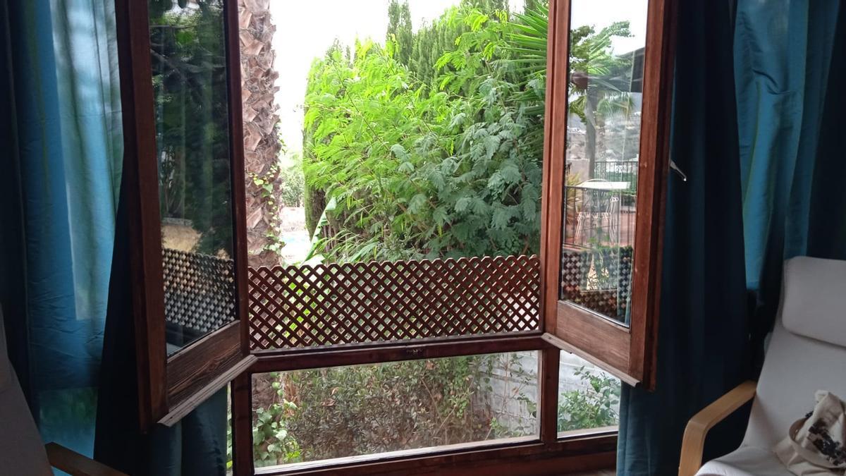 La ventana de mi habitación