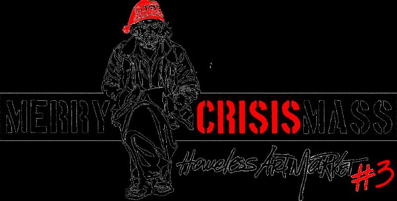 MERRY CRISISMASS, Homeless Art Market #3-2