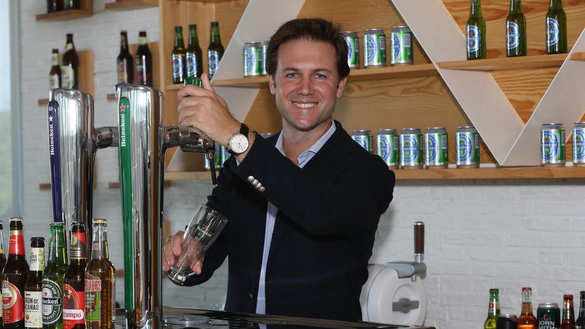 Manuel Román, director de ventas del Grupo Heineken