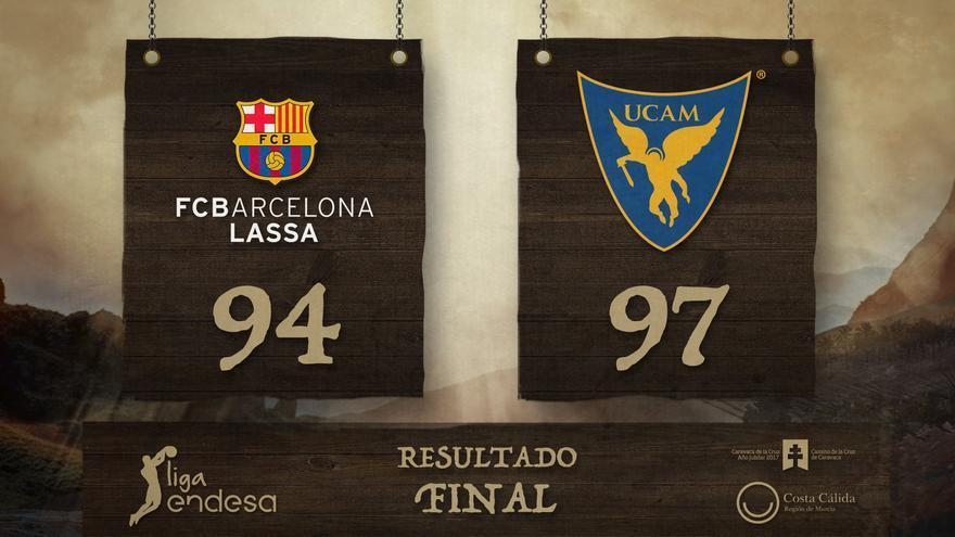 UCAM ganó en el Palau Blaugrana