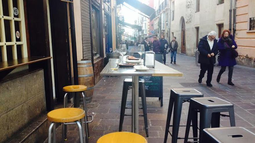 Bares de la zona del casco histórico de Vitoria-Gasteiz .