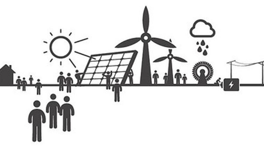 La cooperativa tiene previsto construir tres plantas en una primera fase. / Som Energia.