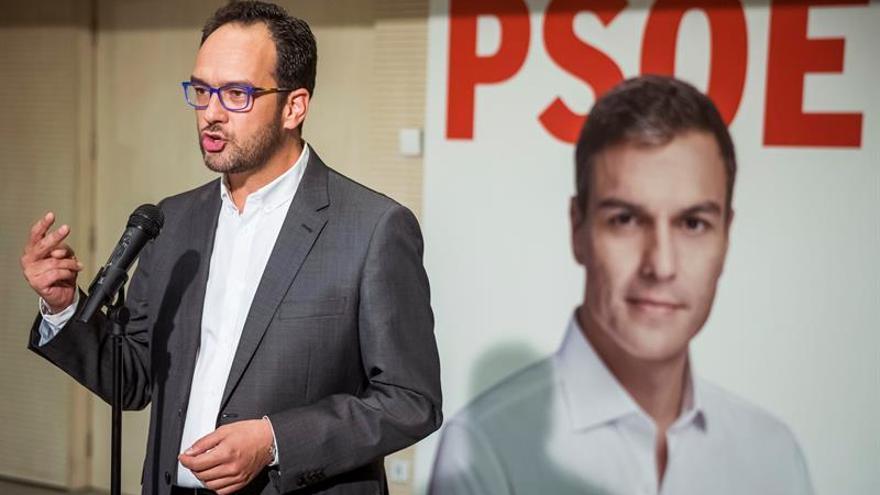 Hernando (PSOE) dice que 26J será un sí a regeneración y un no a corrupción