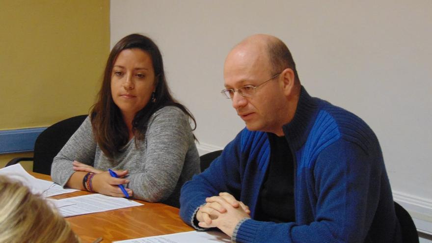 José Luis Herrera, concejal XTF-NC en el Ayuntamiento de La Laguna