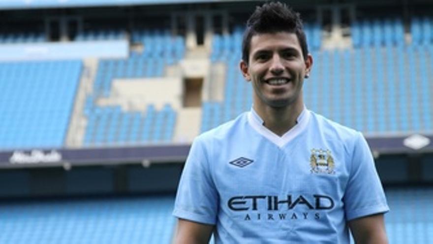 Agüero, Nuevo Jugador Del Manchester City