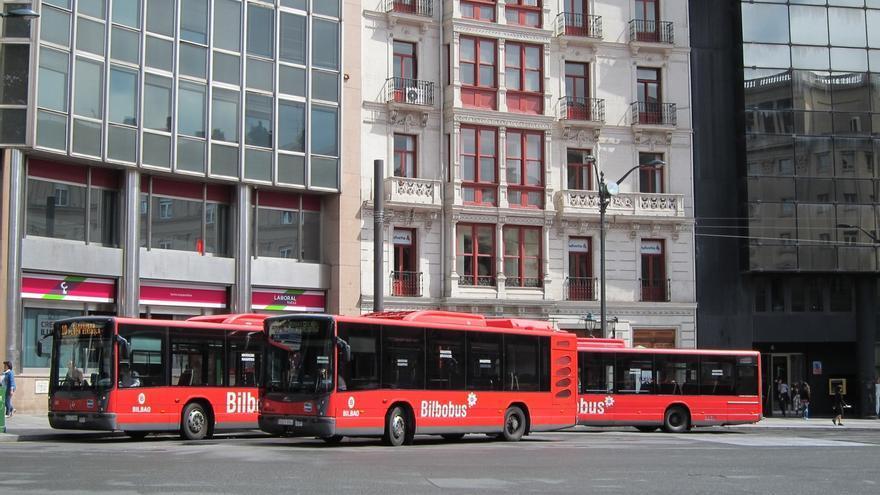 El servicio lanzadera de Bilbobus funcionará este domingo con motivo del partido Bilbao Basket-Laboral Kutxa Baskonia
