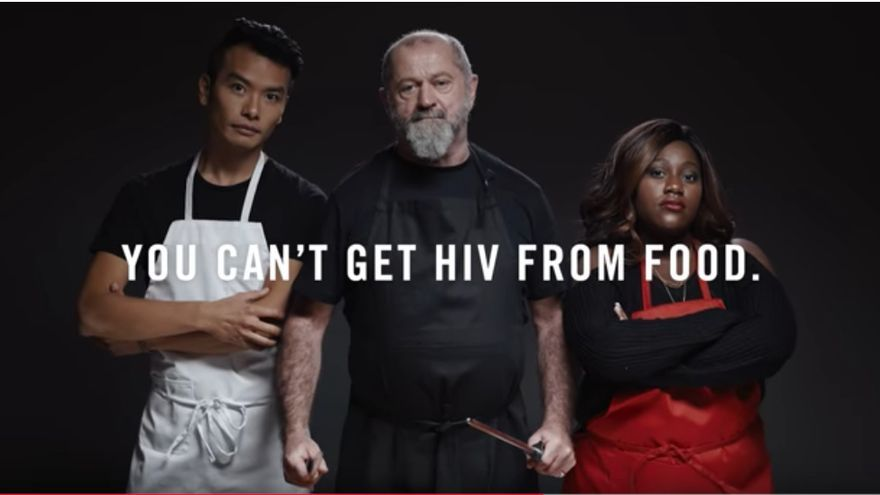 """""""No puedes pillar el VIH a través de la comida"""", este restaurante lucha contra el estigma del VIH"""