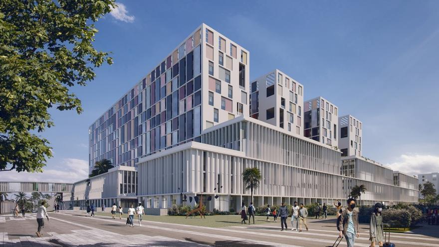 El nuevo hospital de Málaga tendrá 810 habitaciones y será el edificio más grande de Andalucía