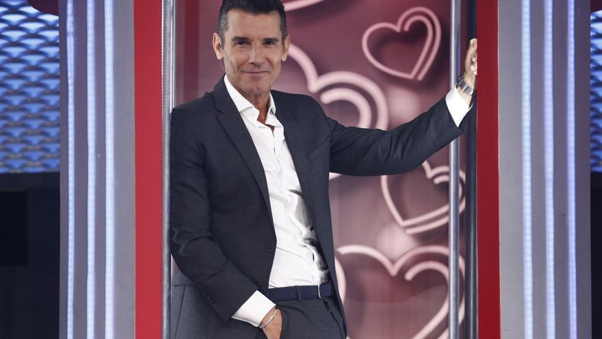 Jesús Vazquez, presentador en 'Me quedo contigo'