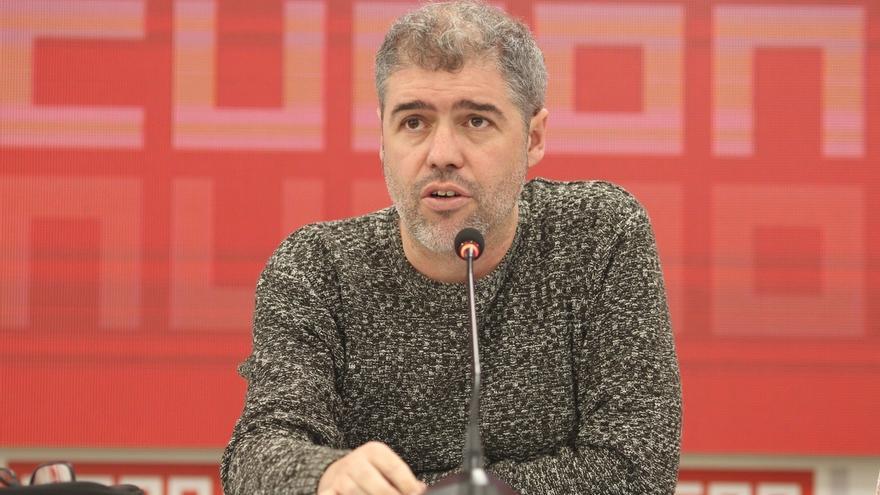 """Sordo afirma que no puede tomar en consideración """"las propuestas de telediario"""" de Báñez sobre pensiones"""