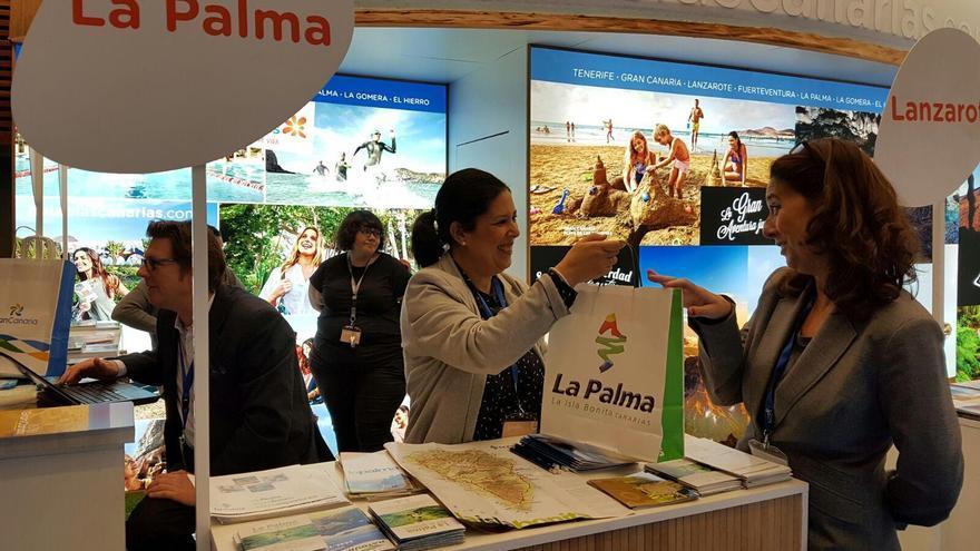 Estand de La Palma.
