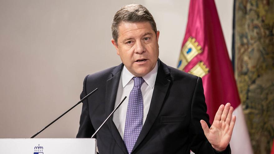 """García-Page advierte a los independentistas de que los objetivos que persiguen son """"inviables"""""""