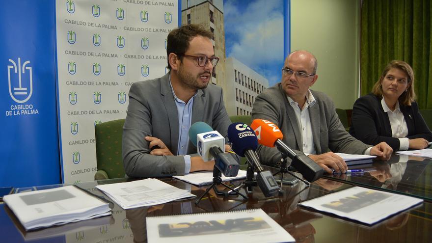 Rueda de prensa celebrada este martes en el Cabildo.