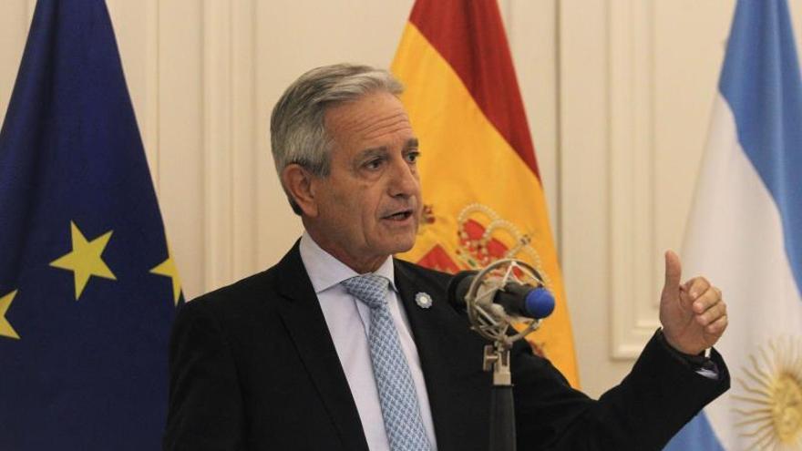 En la imagen, el vicejefe del Gabinete de Ministros, Andrés Ibarra.