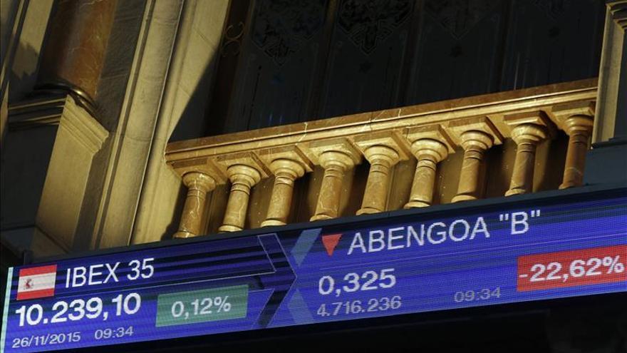 Las acciones de Abengoa suben un 10 % impulsadas por los especuladores
