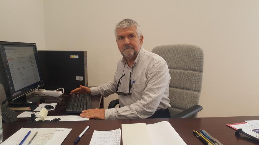 José León García es director del Departamento de Geografía e Historia de la Universidad de La Laguna (ULL).