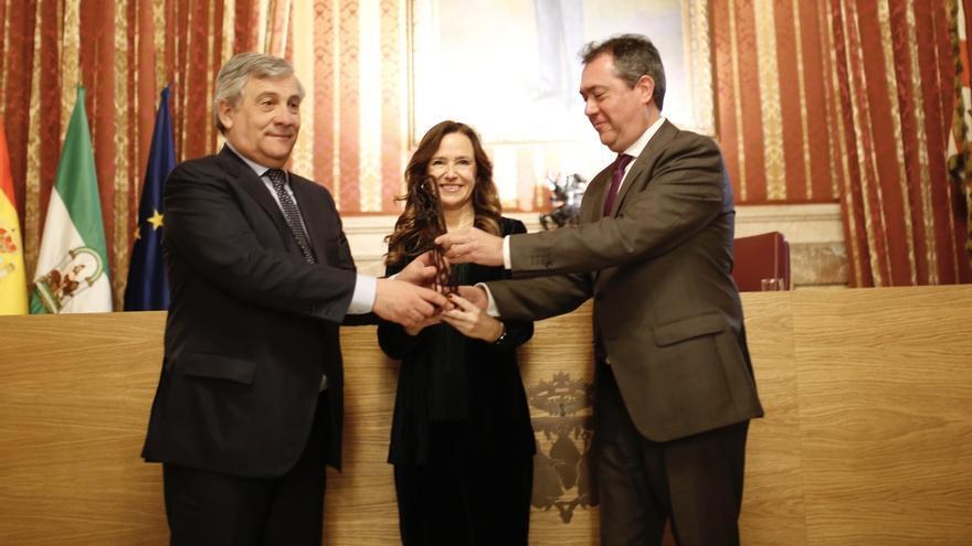 Tajani, premio Jiménez Becerril, aboga por el aumento del presupuesto de UE en defensa contra el terrorismo