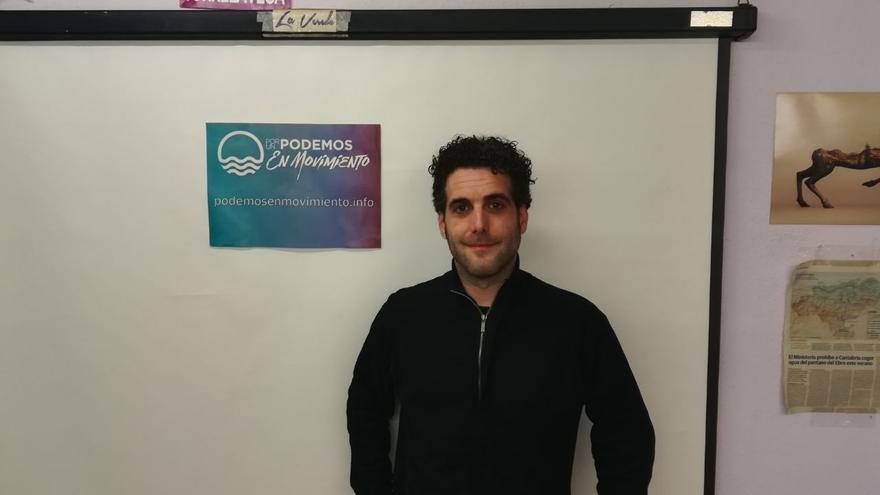 Fernando Abad encabeza la candidatura Podemos en Movimiento.
