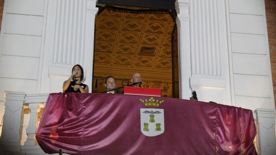 Vicente Rouco, durante el pregón en Albacete