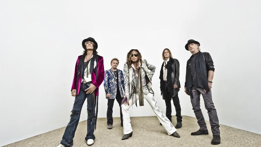 La banda estadounidense Aerosmith