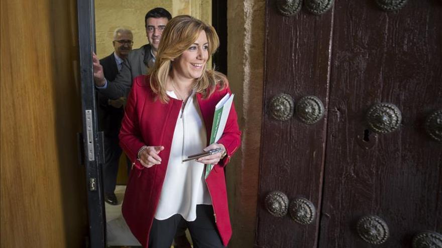 Susana Díaz: los socialistas andaluces llevaremos a Sánchez a La Moncloa