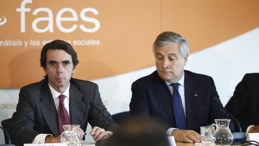 Aznar reaparece el jueves en Valencia dos semanas después de pedir a Rajoy que actúe en Cataluña o vaya a las urnas