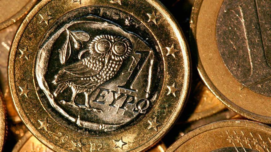 Un euro griego.