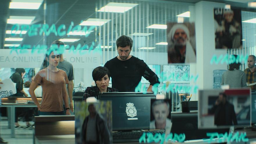 Imagen de 'La Unidad', la nueva serie original de Movistar