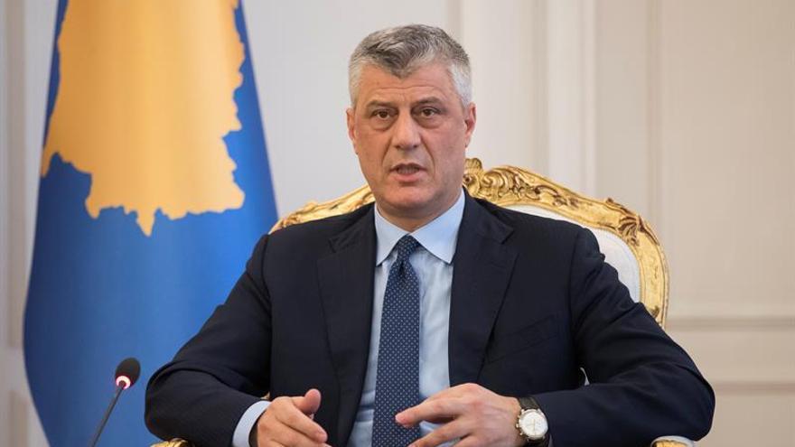 El presidente de Kosovo acusa a la UE de falta de visión para su país