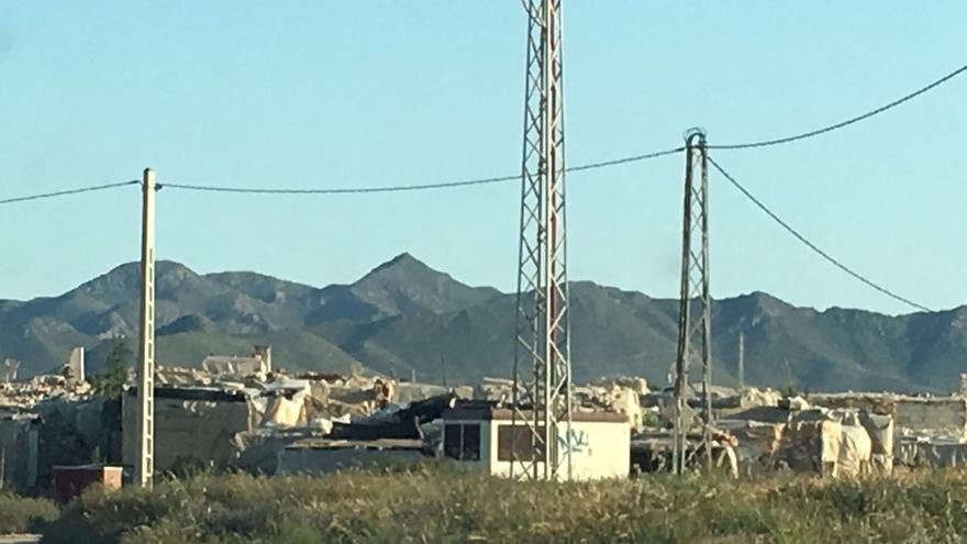 Chabolismo en Níjar, poblado de Los Nietos
