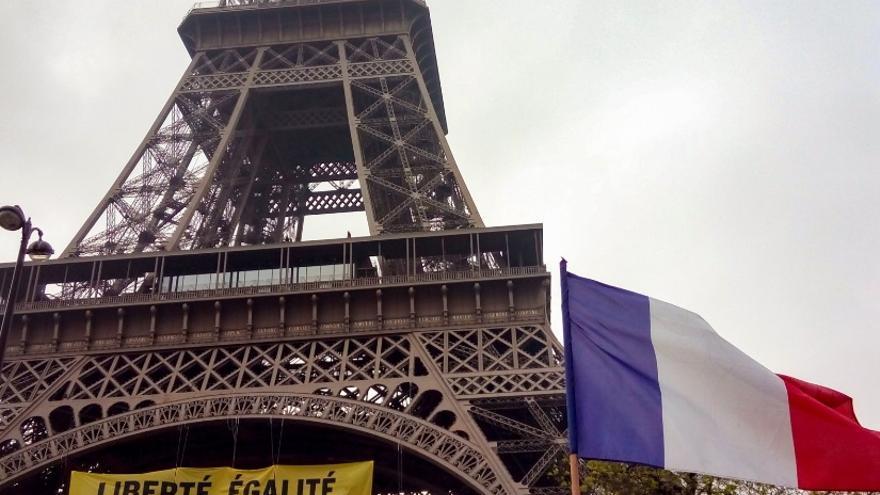 Greenpeace contra Marine Le Pen
