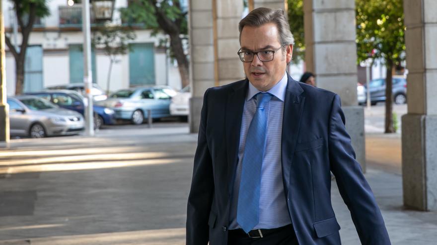 Archivo - El juez, José Ignacio Vilaplana