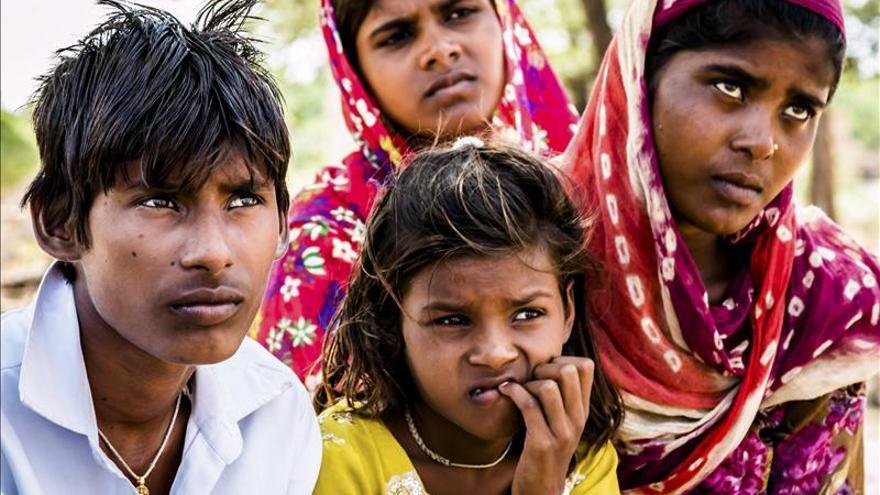 Explotación infantil en los campos de algodón de la India