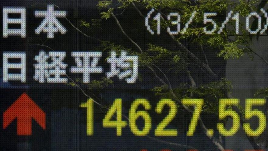 El Nikkei supera los 15.000 puntos por primera vez desde enero de 2008