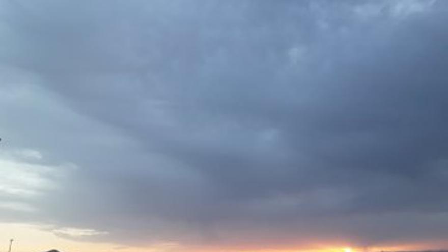 Nubes en Lanzarote.