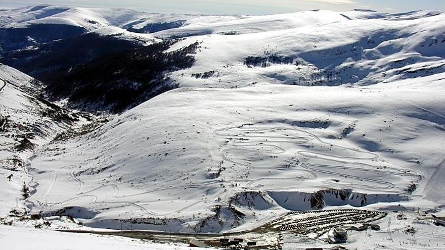 Alto Campoo registra una racha de viento de 123 kilómetros por hora, la máxima de esta madrugada