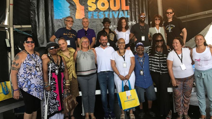 Cartel de artistas del Maspalomas Soul Festival