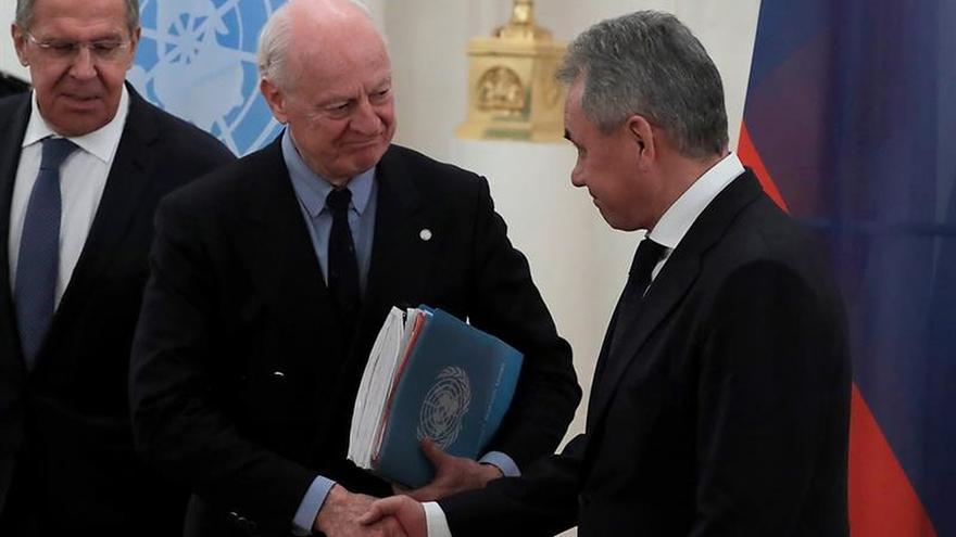 De Mistura: las negociaciones sobre Siria se reanudarán en la segunda mitad de enero