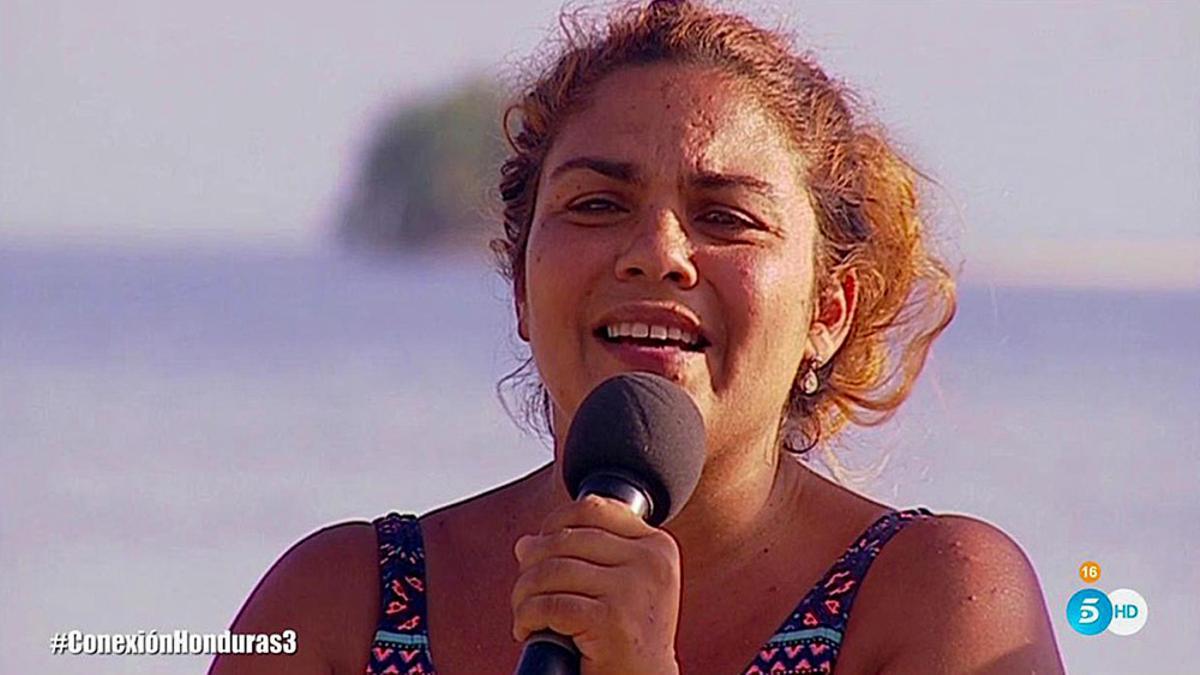 Saray Montoya en 'Supervivientes 2018'