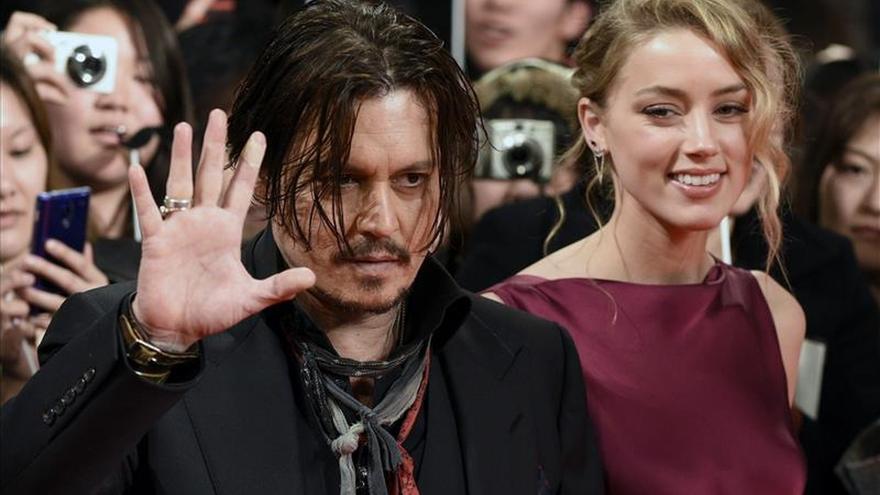 Johhny Depp se marchará de Australia para que sus perros no sean sacrificados