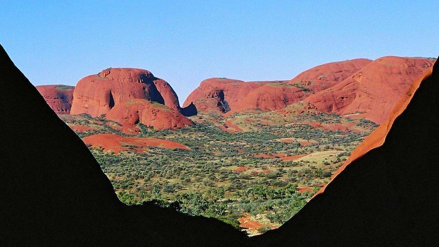 Paisajes surrealistas en The Olgas, otro de los lugares sagrados del Outback australiano. NeilsPhotography