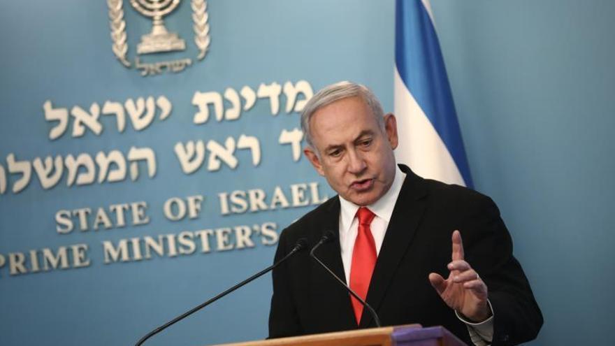 Netanyahu seguirá siendo primer ministro tras acuerdo de gobierno con Gantz